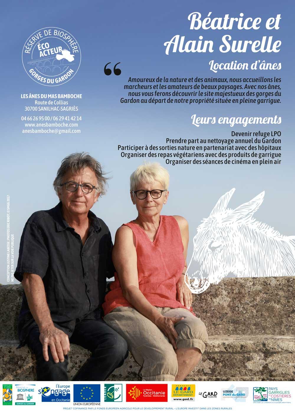 Flyer FR Béatrice & Alain Surelle