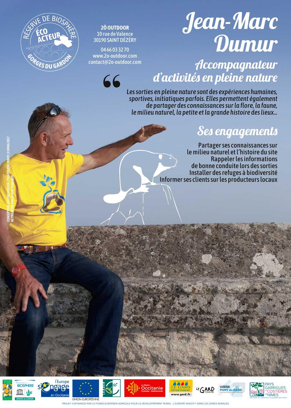 Flyer FR Jean Marc Dumur