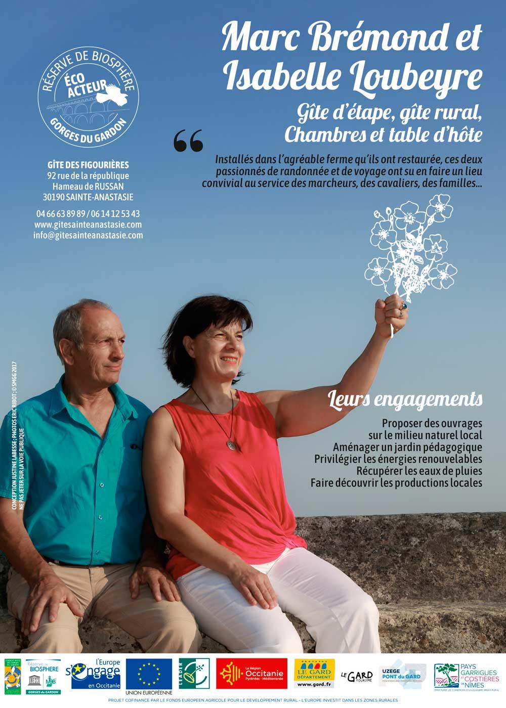 Flyer FR Marc Bremond et Isabelle Loubeyre