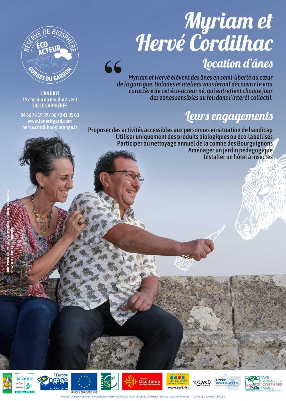 Flyer FR Myriam et Hervé Cordilhac